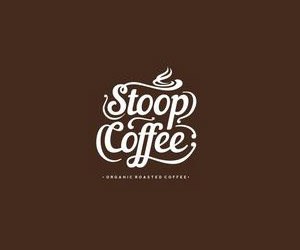 โลโก้ร้านกาแฟ Stoop Coffee